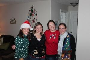 Alison, Myself, Rachel and Liz