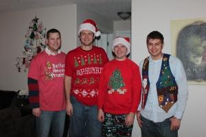 Brian, Stephen, Chris and John