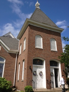 Cornerstone Presbyterian in downtown Franklin