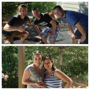 Brewing with Brian, Rachel & Chris