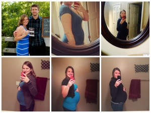 15 weeks, 20 weeks, 25 weeks 28 weeks, 30 weeks, 36 weeks