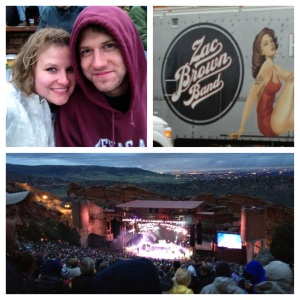 Zac Brown Band at Red Rocks May 2013