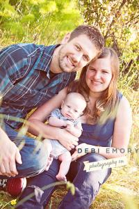 Our Family Photo by Debi Emory Photography