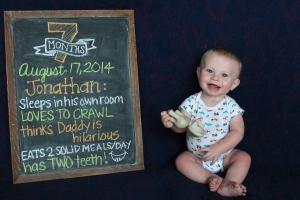 Seven Months August 17, 2014
